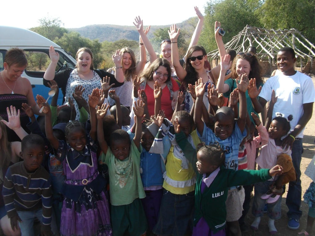 swansea students in zambia